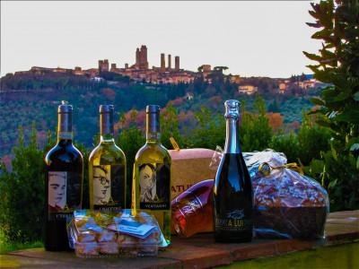 """Thumbnail """"San Gimignano"""" Wine Tasting at Palagetto winery"""