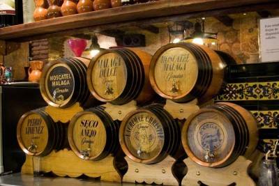 Thumbnail Strada del vino Moscatel nella città di Malaga