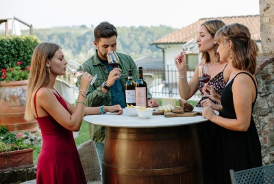 Thumbnail Wine Tour and Tasting at Terre del Bruno's Medieval cellars