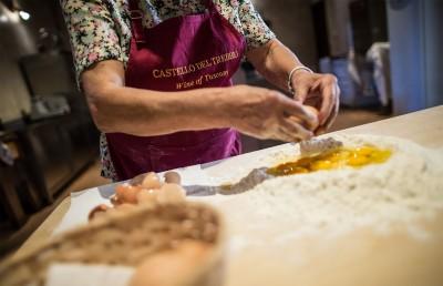 Thumbnail Corso di cucina e degustazione a Castello del Trebbio