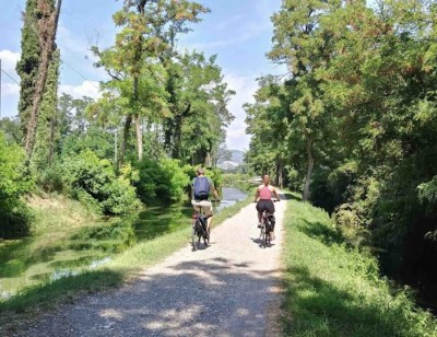 Thumbnail Valpolicella Classica by e-bike and visit at Albino Armani winery