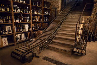 Thumbnail The perfect combination of past and present: Welcome to Cantina del Castello.