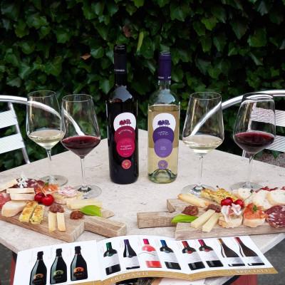 Thumbnail Interpretations of the Scents and Tastes of Wine at Bosco Longhino