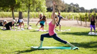 Thumbnail Yoga in the vineyard at Tenuta Torciano