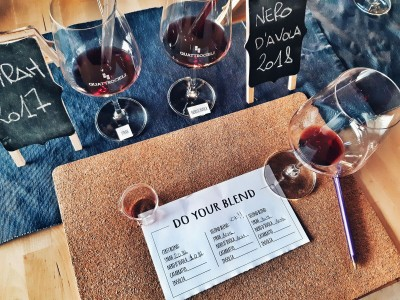 Thumbnail Make your Blend experience at Quattrocieli Winery