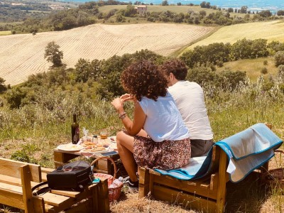 Thumbnail Sunset picnic wine tasting experience at Fattoria La Maliosa